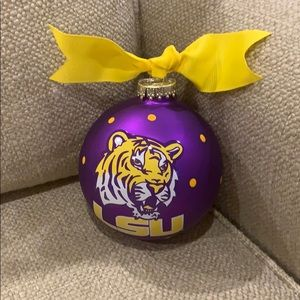 Coton Colors LSU CHRISTMAS ORNAMENT